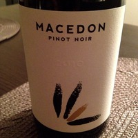 Macedon Pinot Noir 2010, Macedonia