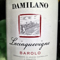 Damilano Lecinquevigne Barolo 2010,