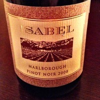 Isabel Estate Pinot Noir 2008,