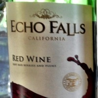 Echo Falls Red Wine ,