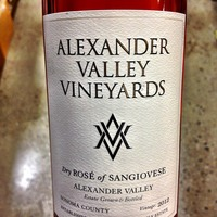 Dry Rosé of Sangiovese 2012, United States