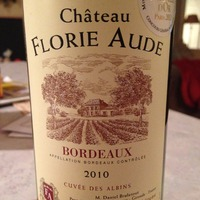 Chateau Florie Aude 2010, France