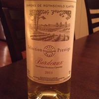 Barons de Rothschild Sélection Prestige 2011, France