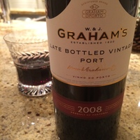 Graham's Late Bottled Vintage Port 2008, Portugal