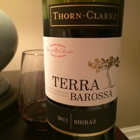 Thorn Clarke Terra Barossa Shiraz 2011,