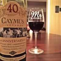 Caymus Vineyards Cabernet Sauvignon 40th Year Anniversary 2012, United States