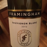 Framingham Sauvignon Blanc 2012,