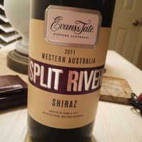 Evans & Tate Split River Shiraz 2011,