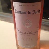 Domaine de Paris Rosé 2011, France
