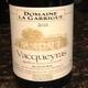 Domaine La Garrigue Vacqueyras France Wine