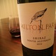 Milton Park Shiraz  Wine