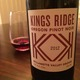 King's Ridge Pinot Noir  Wine