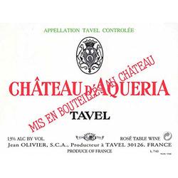 "Château d'Aquéria <a href=""/regions/tavel"">Tavel</a> France"