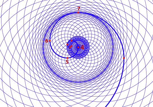 La cosmométrie, fondement géométrique de la physique et de la métaphysique Phi-ds-nodes-1-wht
