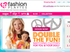 photo of the website for FashionPlaytes.com - Custom Fashion for Tween Girls