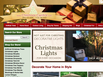photo of the website for Christmas Central