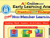 photo of the website for ABCmouse.com