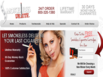 photo of the website for Smokeless Delite Electronic Cigarettes