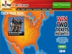 photo of the website for Six Flags