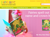 photo of the website for www.iseeme.com Personalized Children's Books