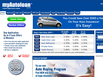 photo of the website for myAutoloan.com