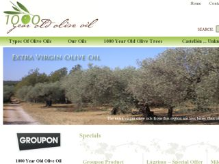 Shop at 1000yearoldoliveoil.com