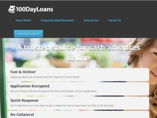 Shop at 100dayloans.com