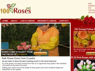 Shop at 100roses.net