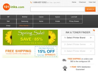 Shop at 101inks.com