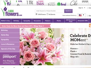 Shop at 1800flowers.com