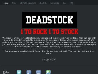 Shop at 1torock1tostock.com