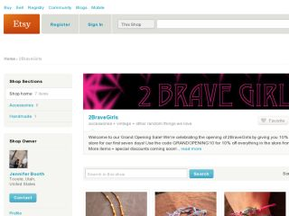 Shop at 2bravegirls.etsy.com