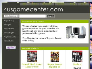 Shop at 4usgamecenter.com