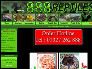 Shop at 888reptiles.co.uk