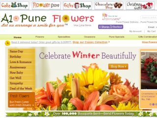 Shop at a1puneflowers.com