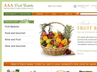Shop at aaafruitbaskets.com