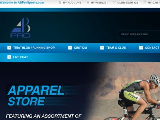 Shop at abprosports.com