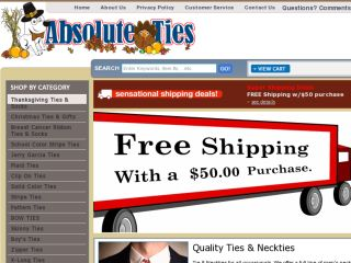 Shop at absoluteties.com