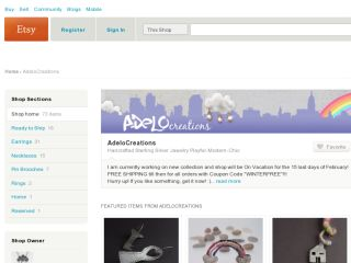 Shop at adelocreations.etsy.com