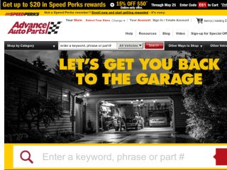 Shop at advanceautoparts.com