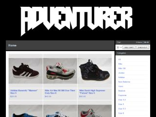 Shop at adventurer.bigcartel.com