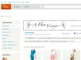 Shop at ahemvintage.etsy.com