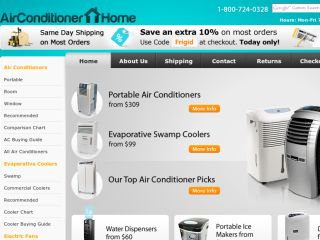 Shop at air-conditioner-home.com