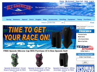 Shop at all-americanaquatics.com