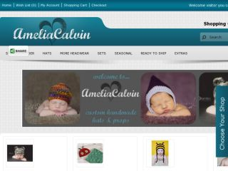 Shop at ameliacalvin.com