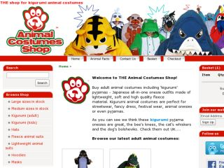 Shop at animalcostumesshop.co.uk