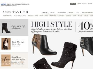 Shop at anntaylor.com
