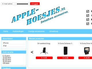 Shop at apple-hoesjes.eu