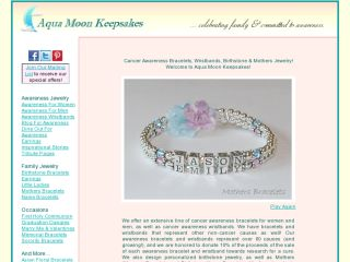 Shop at aquamoonkeepsakes.com
