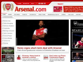 Shop at arsenal.com